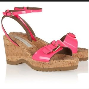 Stella McCartney Linda wedge sandals